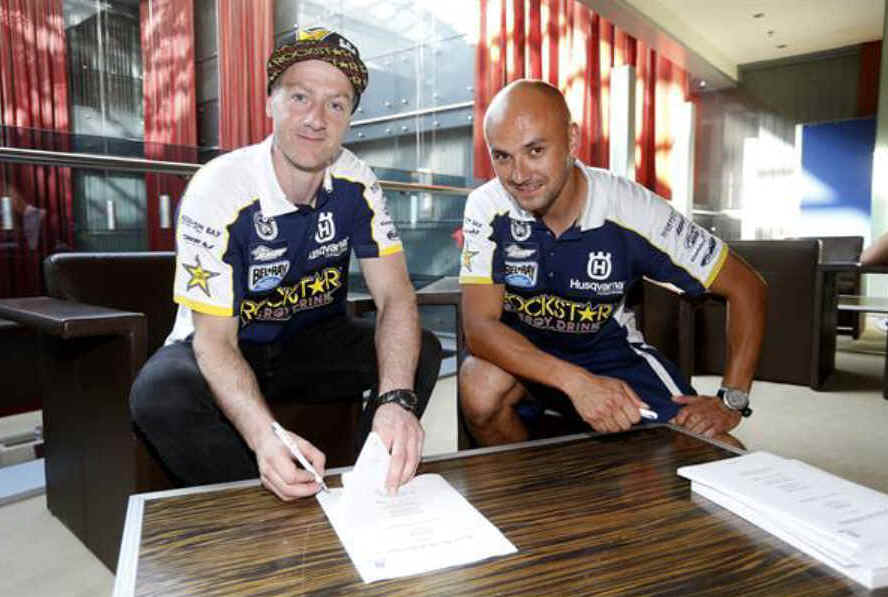 Graham Jarvis extends contract with Husqvarna Motorcycles