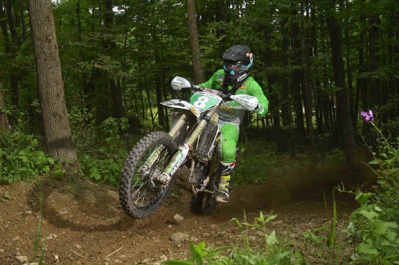 Craig Delong captured second place in the XC2 250 Pro class this past weekend.