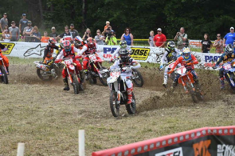 Ryan Sipes made an apperance at the Dunlop Tomahawk GNCC, and earned himself the $250 All Balls Racing Holeshot Award.